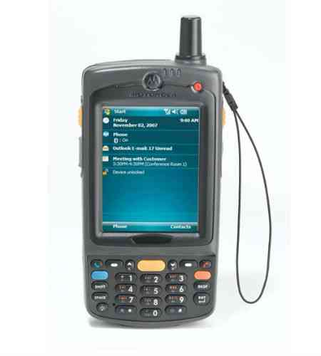 Motorola MC75A 2D, extended battery